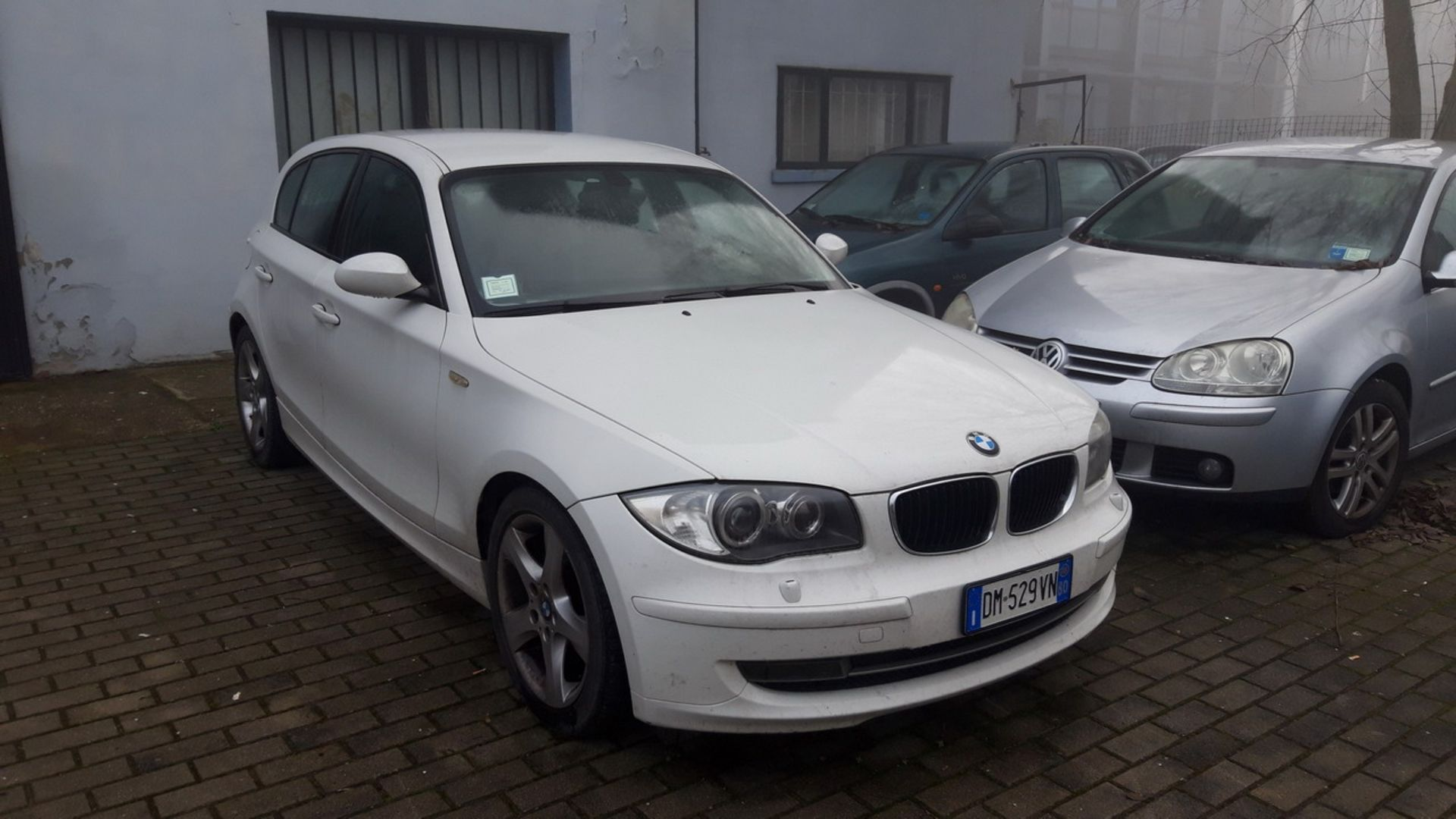 Lotto 17 - N. 1 (ES. N° 1221/19 IVG N° 5.693) AUTOVETTURA BMW TG. DM 529 VN, ANNO IMM.2008, GASOLIO (BENI IN