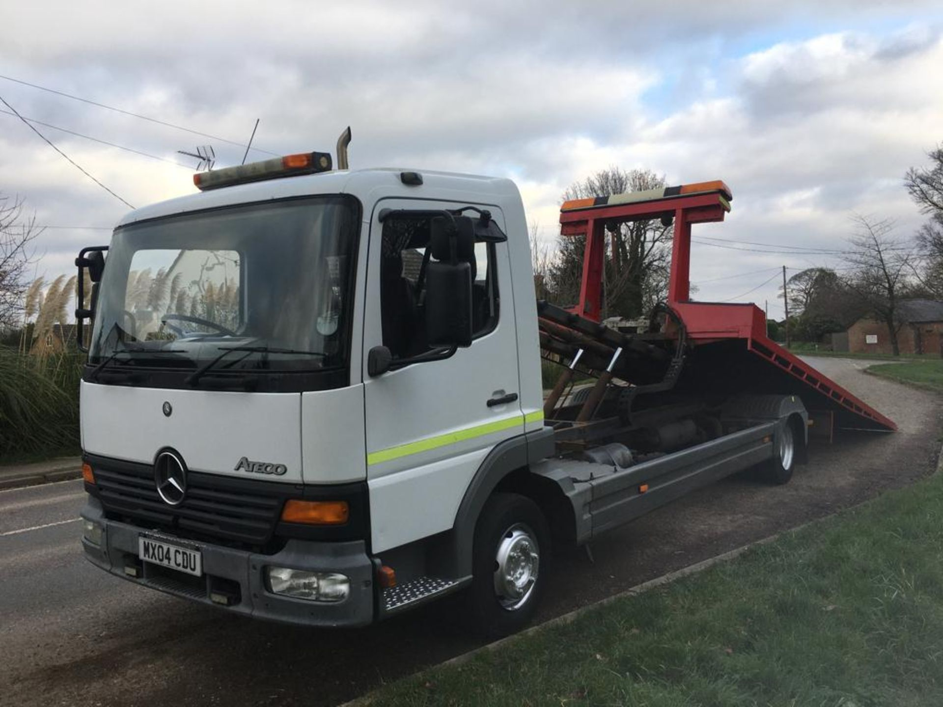 Lot 3 - 2004 MERCEDES BENZ ATEGO TRANSPORTER RECOVERY TRUCK