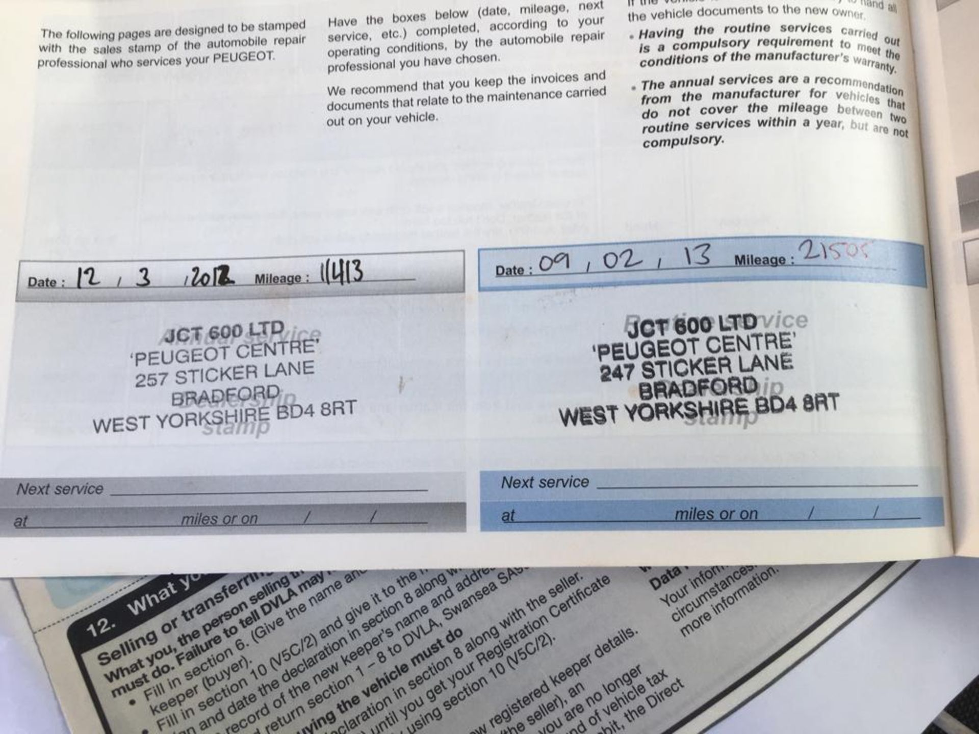 Lot 9 - 2011 PEUGOET 207 1.4 ENVY 3 DOOR HATCHBACK