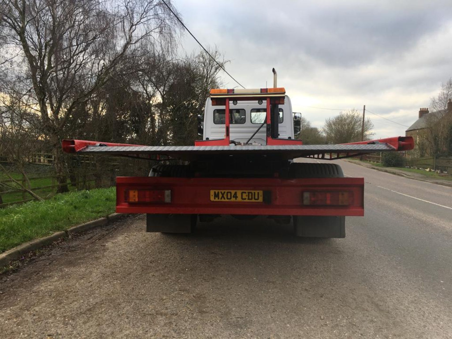 Lot 3 - 2004 MERCEDES BENZ ATEGO TRANSPORTER RECOVERY TRUCK 7.5 TONS **TILT AND SLIDE**
