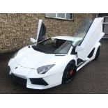 2014 LAMBORGHINI AVENTADOR **ONE FORMER KEEPER FROM NEW**