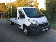 2015 FIAT DUCATO 35 MULTIJET LWB S-A TRANSPORTER **ONE OWNER FROM NEW**
