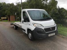 2016 FIAT DUCATO 35 MULTIJET LWB S-A TRANSPORTER **ONE OWNER FROM NEW**