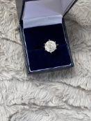 5.02 CT APPROX DIAMOND RING