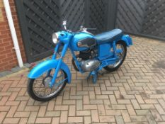 1963 JAMES CAPTAIN 199CC MOTORBIKE