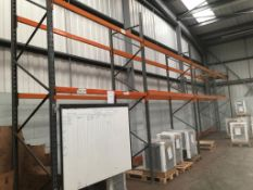 35X COMMERICAL RACKING BAYS