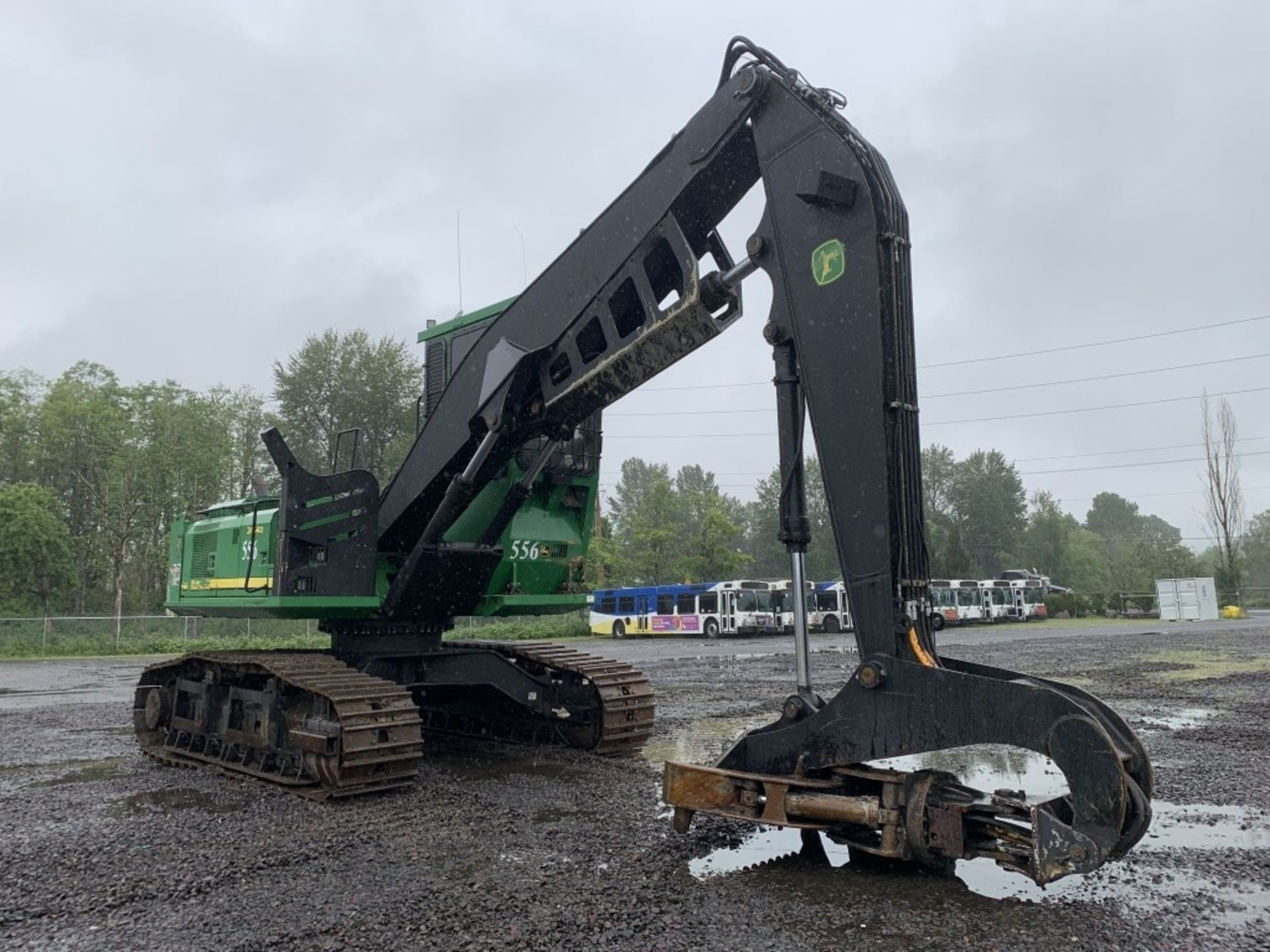Lot 41 - 2012 John Deere 2454D Log Loader