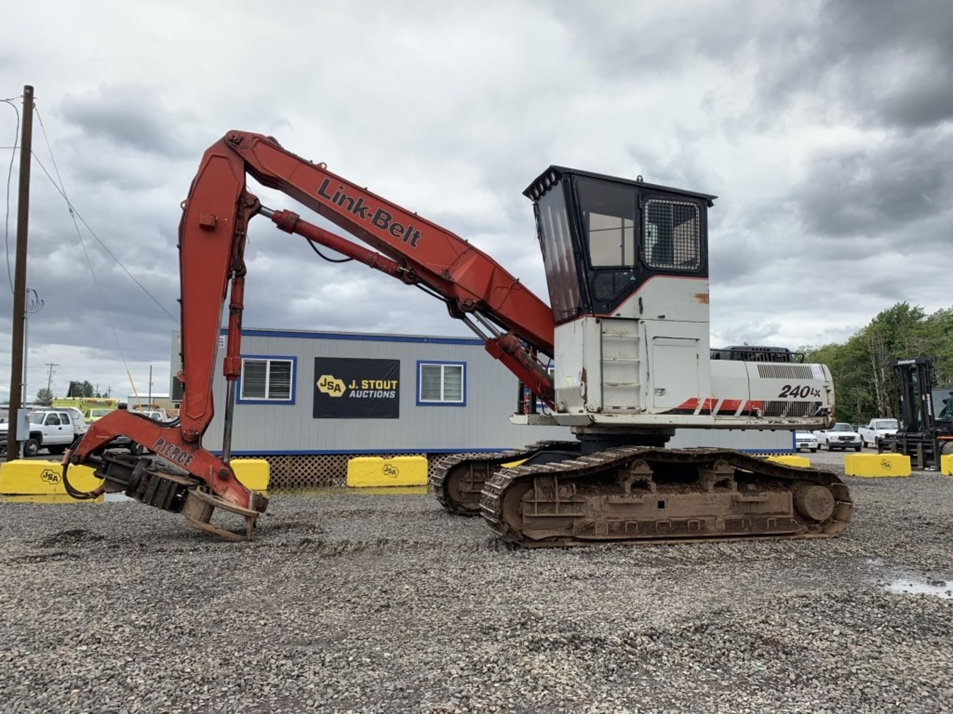 Lot 44 - 2005 Link-Belt 240LX Shovel Logger