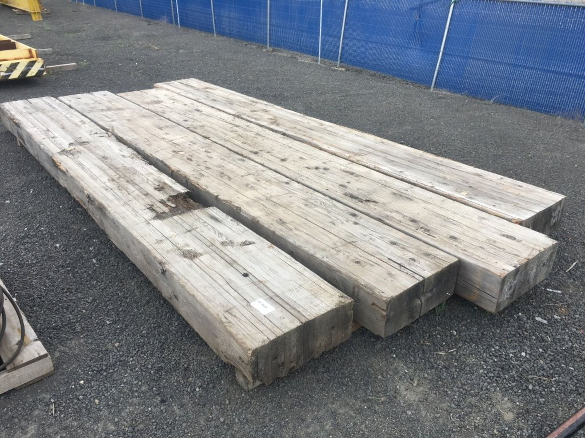 Lot 249 - Wood Support Timbers Qty 4