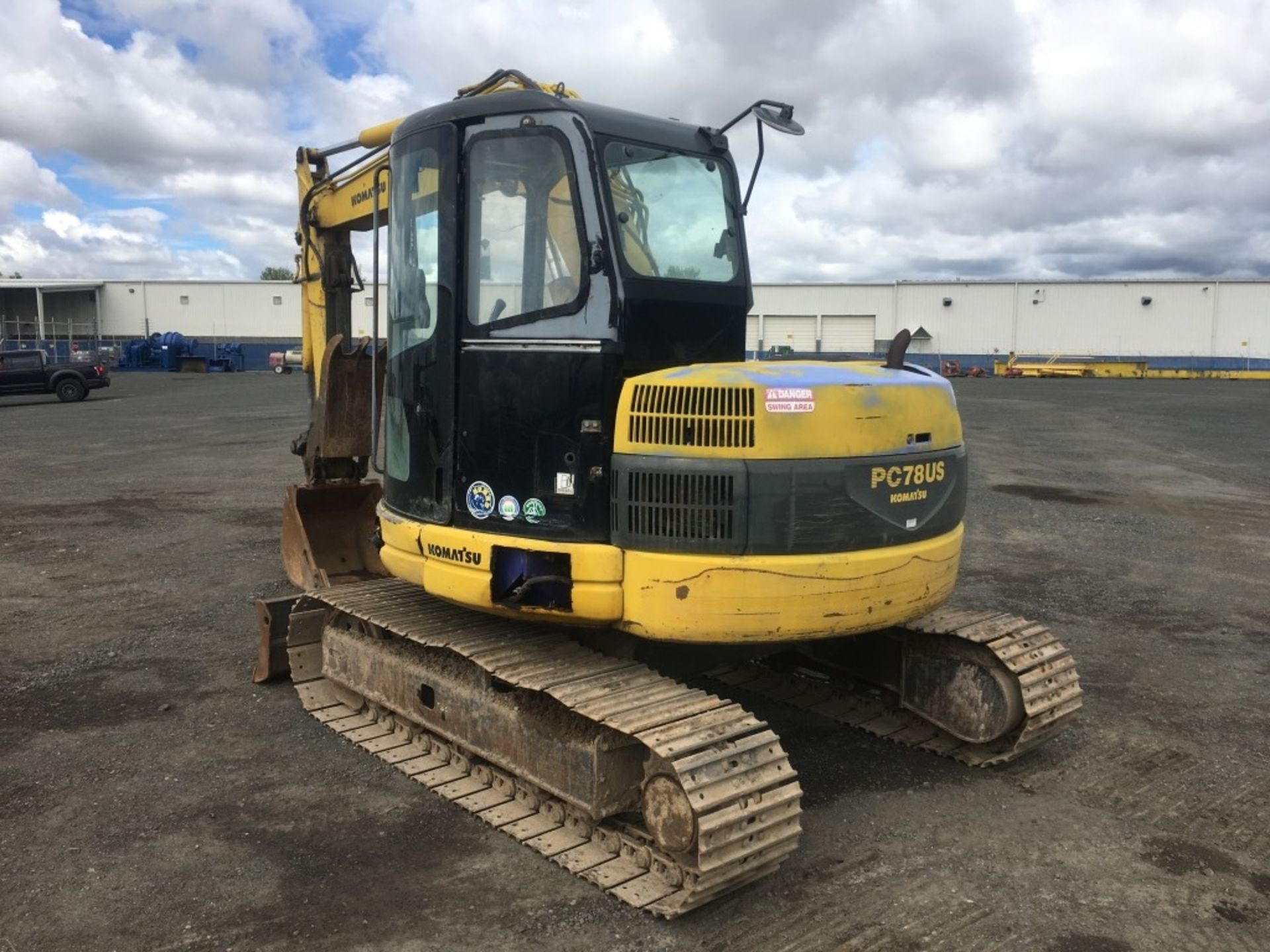 Lot 35 - 1999 Komatsu PC-78US Mini Hydraulic Excavator