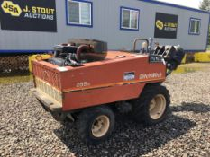 Ditch Witch 255SX Walk Beside Cable Plow
