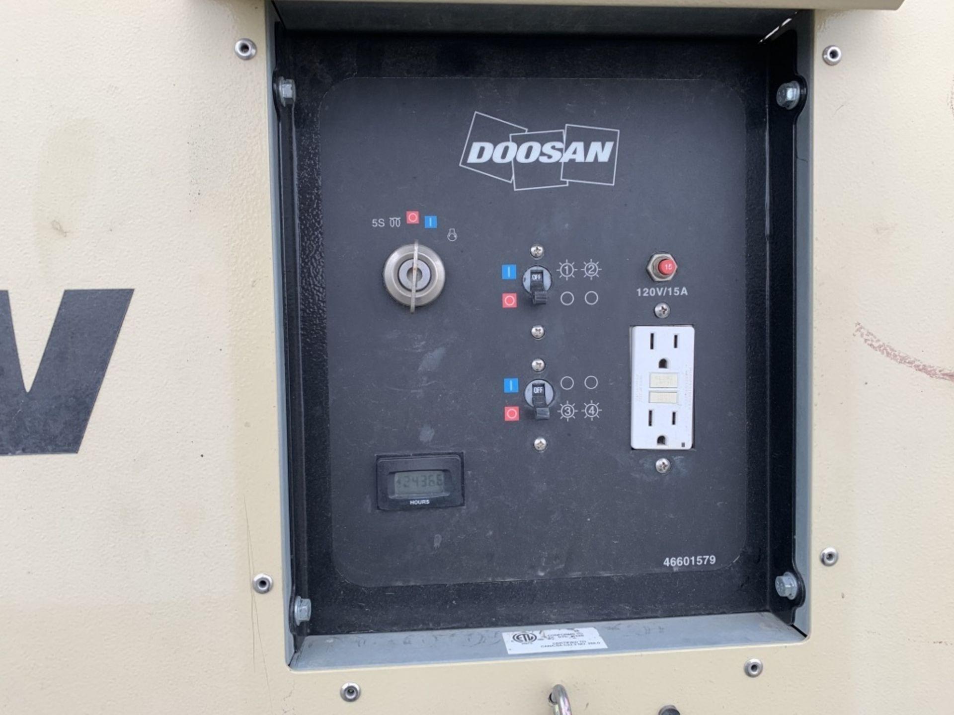 Lot 33 - 2015 Doosan LSC Towable Light Tower
