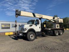 2008 International 7600 Workstar T/A Crane Truck
