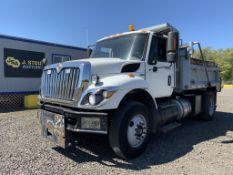 2009 International 7500 Workstar S/A Dump Truck
