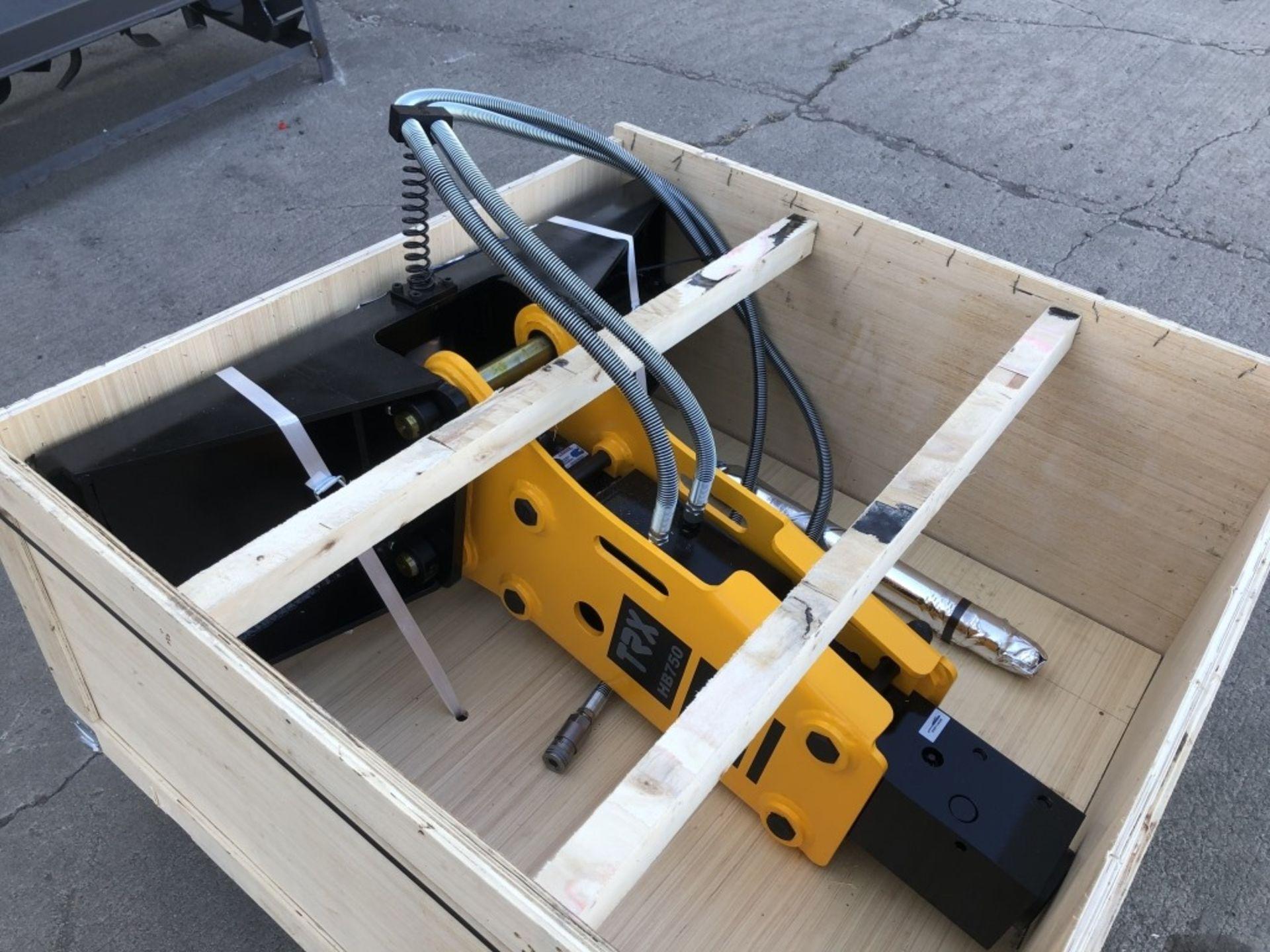 2020 TRX HB750 Hydraulic Hammer - Image 2 of 3