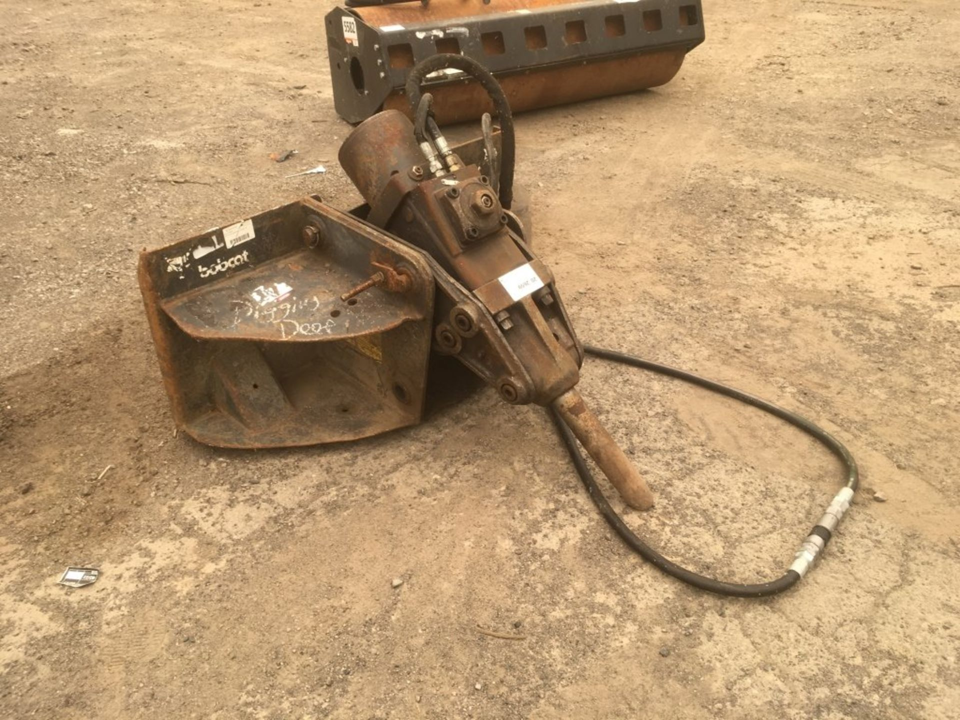 Bobcat Hydraulic Breaker - Image 2 of 4
