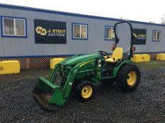 2007 John Deere 2520HST Utility Tractor
