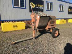 Muller Towable Mortar Mixer