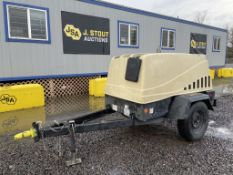 2008 Ingersoll-Rand Airsource 185 Towable Air Comp