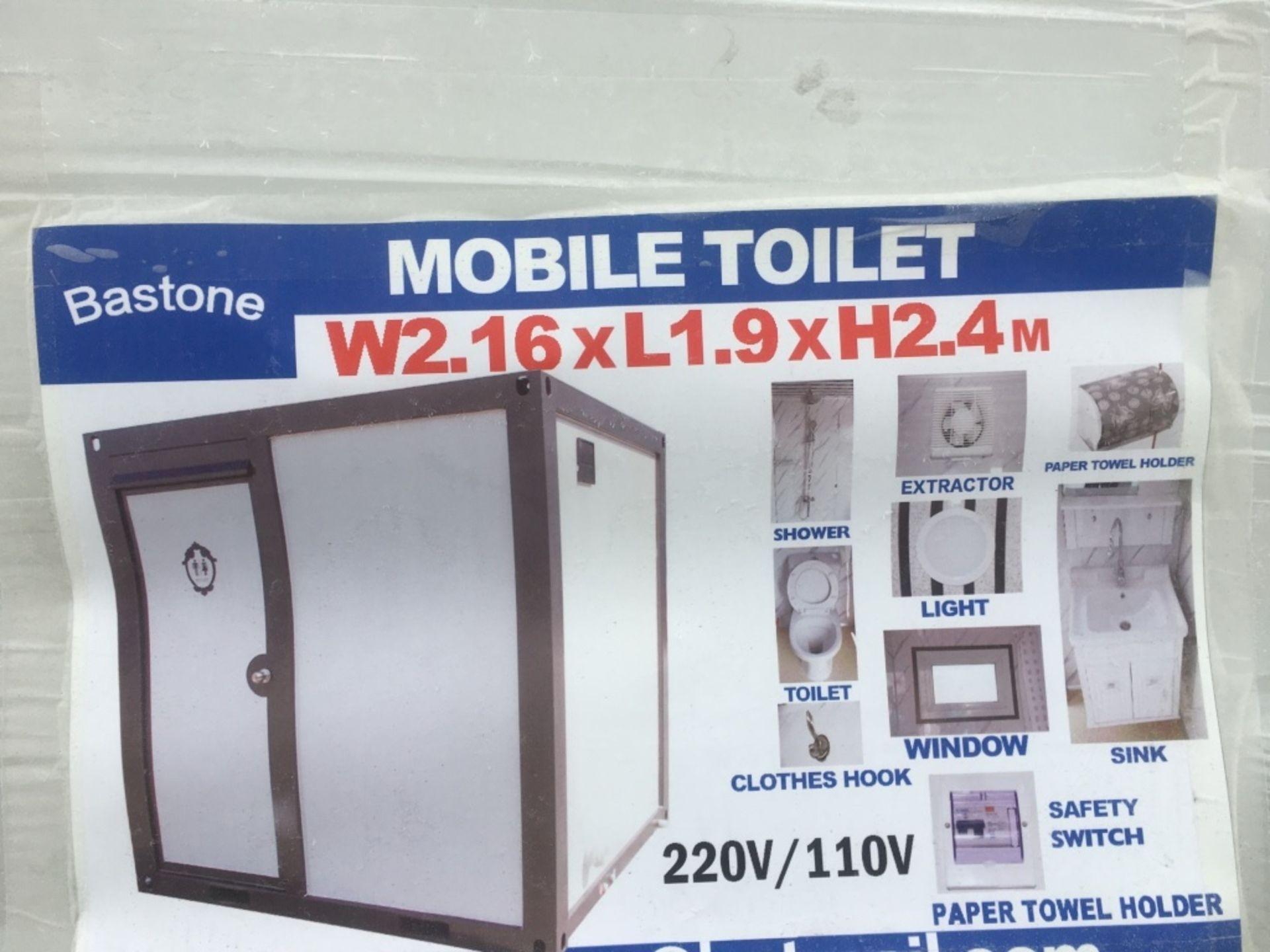 2020 Bastone Portable Restroom w/Shower - Image 5 of 5