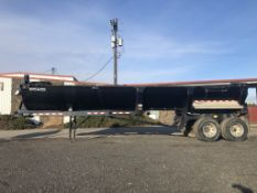 2003 Ranch 33' T/A End Dump Trailer
