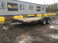 2017 Summit T/A Equipment Trailer