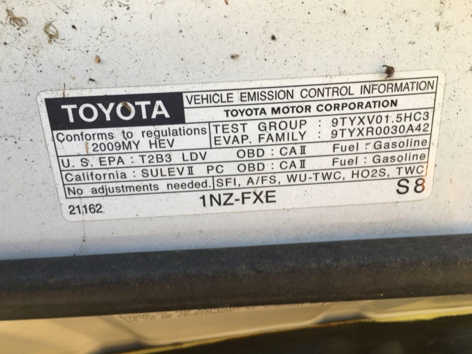 2009 Toyota Prius Sedan - Image 16 of 18