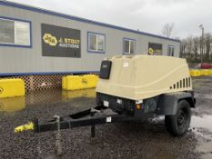 2007 Ingersol-Rand Airsource 185 Towable Air Compr