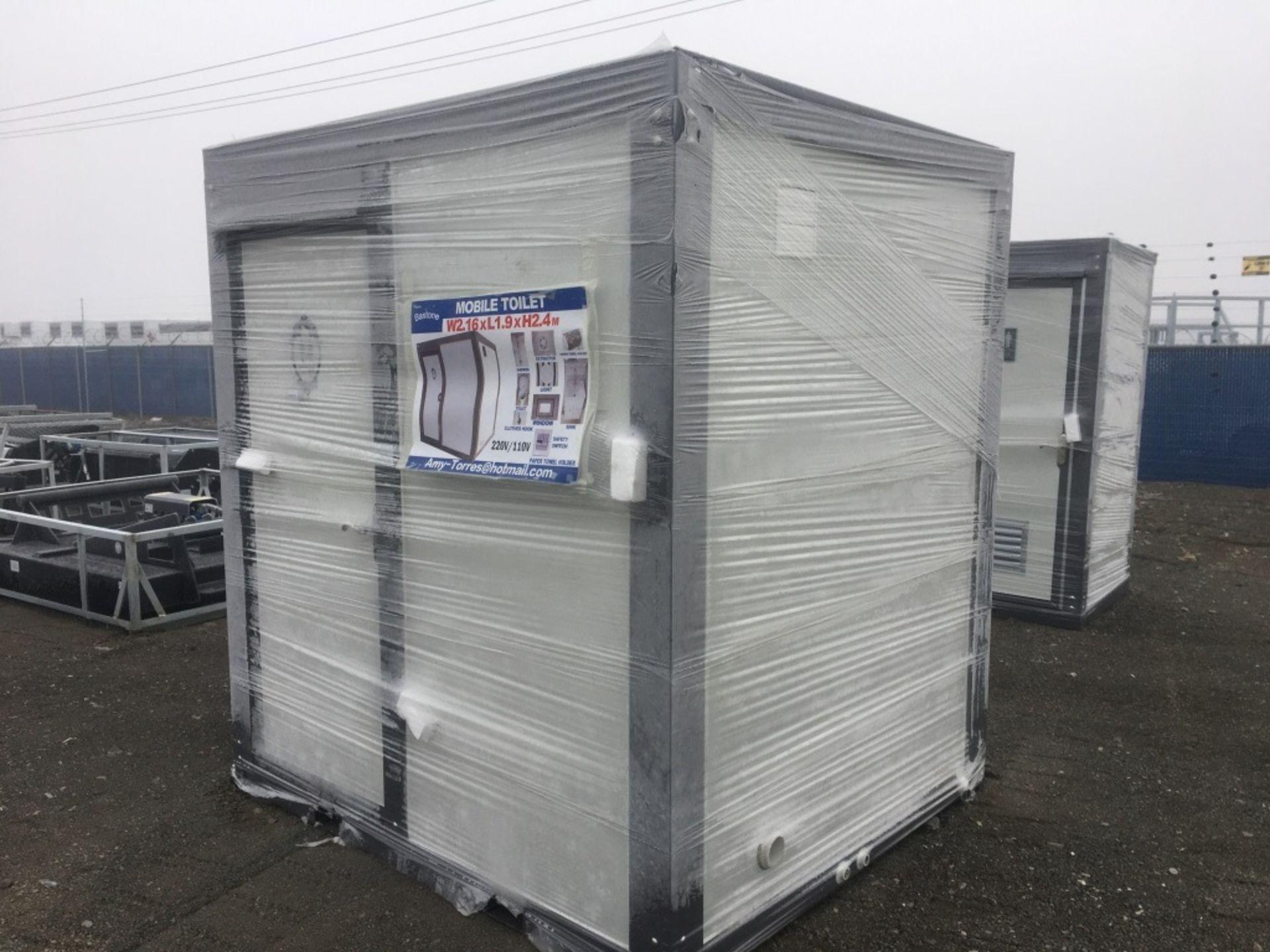 2020 Bastone Portable Restroom w/Shower - Image 2 of 5