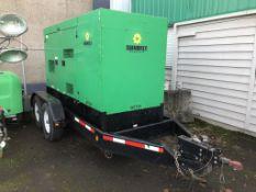 2014 Multiquip Whisperwatt Towable Generator