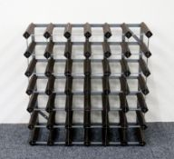 1 x 36 bottle (6 x 6) Wine Rack