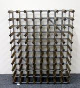 1 x 80 bottle (8 x 10) Wine Rack