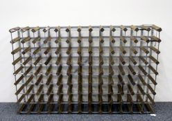 1 x 104 bottle (13 x 8) Wine Rack