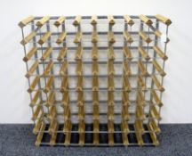 1 x 64 bottle (8 x 8) Wine Rack