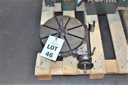 "1 X 12"" ENGINEERS ROTORY TABLE"