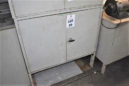 1 X STEEL CABINET & CONTENTS OF VARIOUS ENGINEERS ITEMS