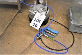 NEWSON GALE 140 PSI 100P S/STEEL LABORATORY PRESSURE VESSEL