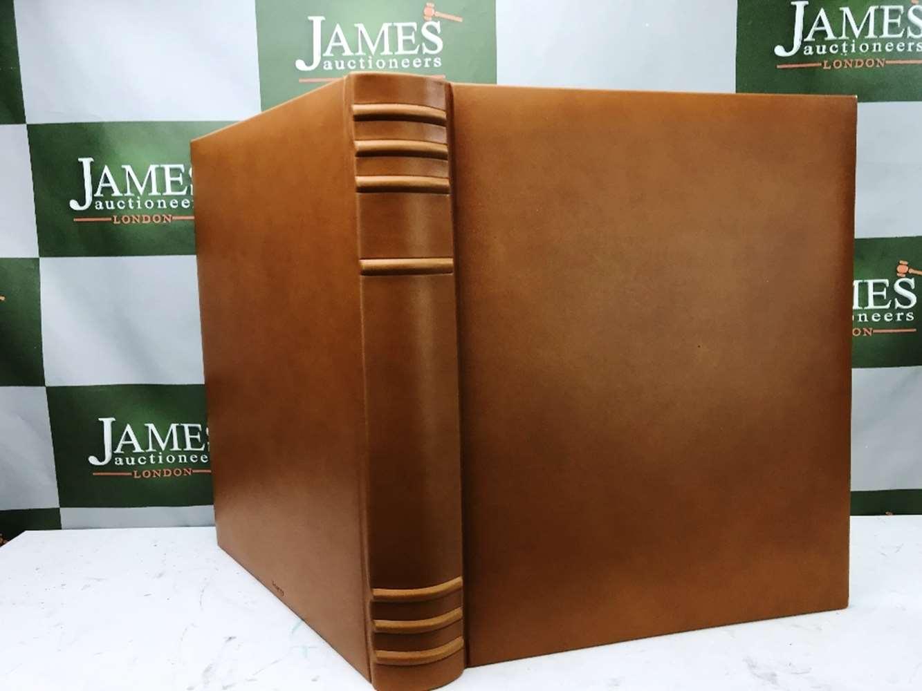 Lot 31 - Asprey & Co - New Tan Leather Photo Album-Large 13 x 11 Inch