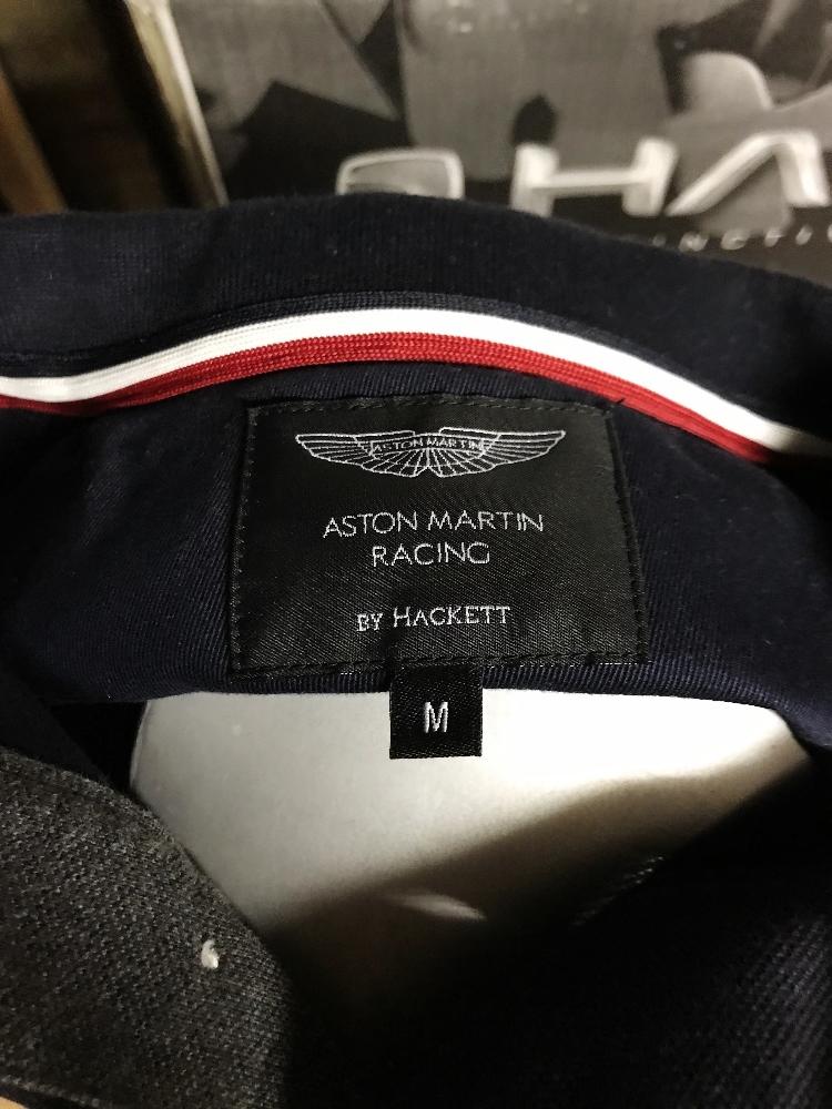 Lot 30 - Hackett Aston Martin Racing Long Sleeve Polo