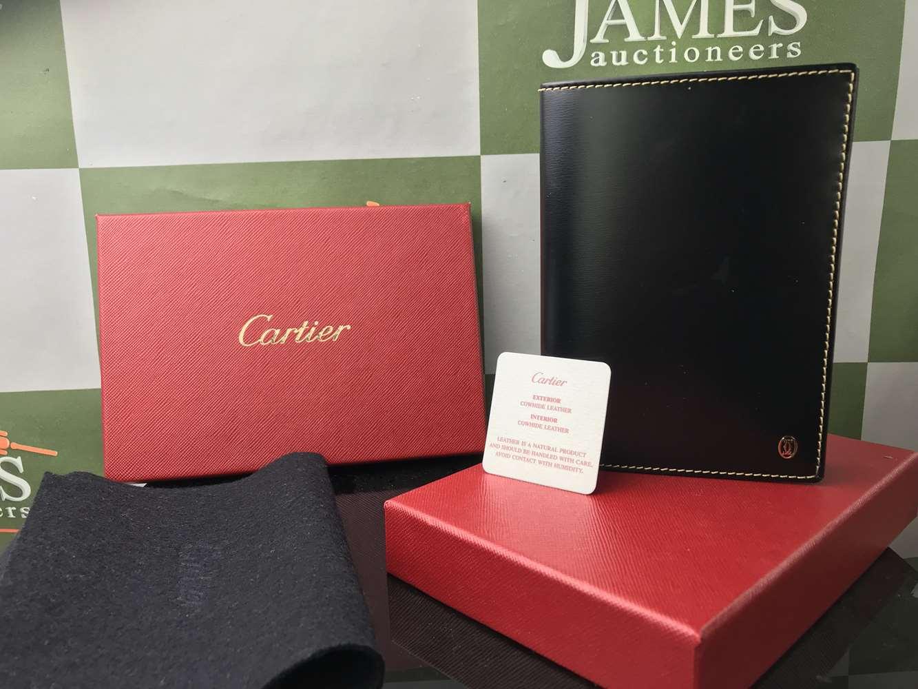 Lot 12 - Cartier Passport Holder