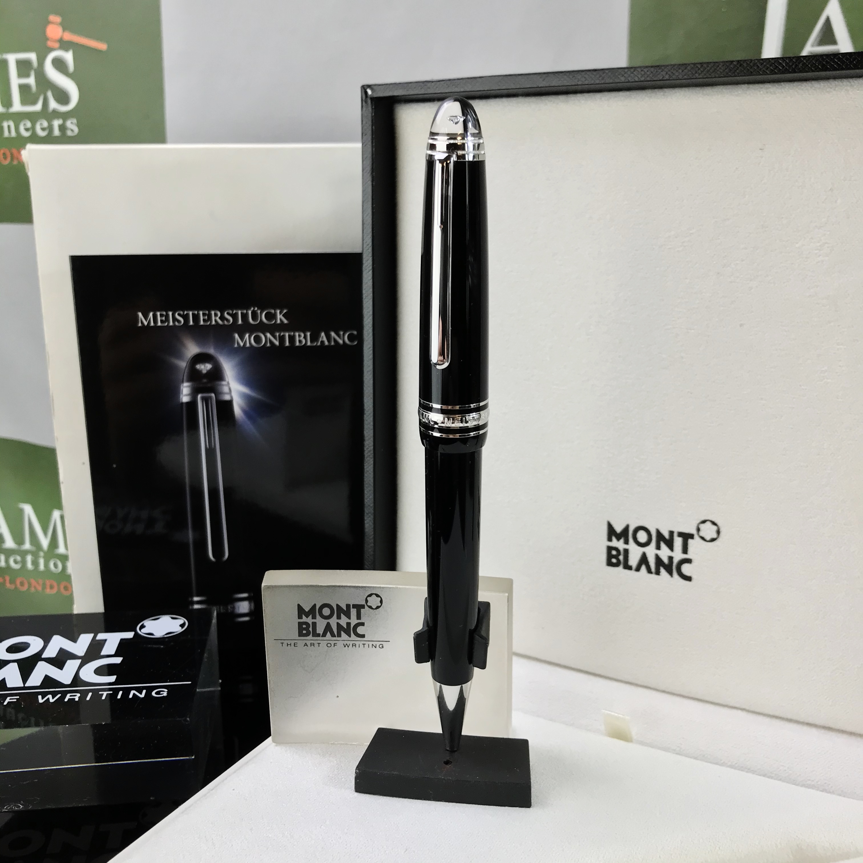 Lot 20 - Montblanc Meisterstuck Diamond Pen Ltd Edition / Certificate Included