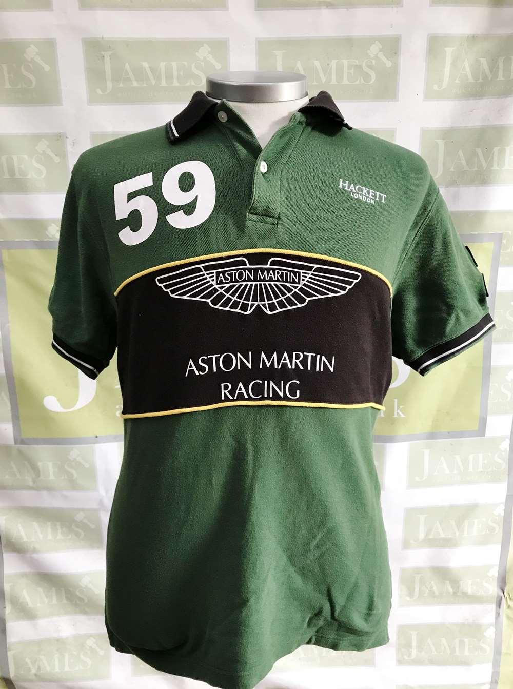 Lot 28 - Hackett Aston Martin Racing GB59 Polo Shirt