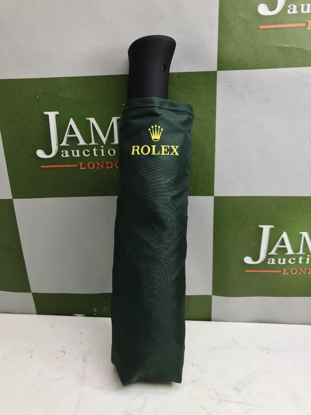 Lot 24 - Rolex Official Merchandise Umbrella, New Example.