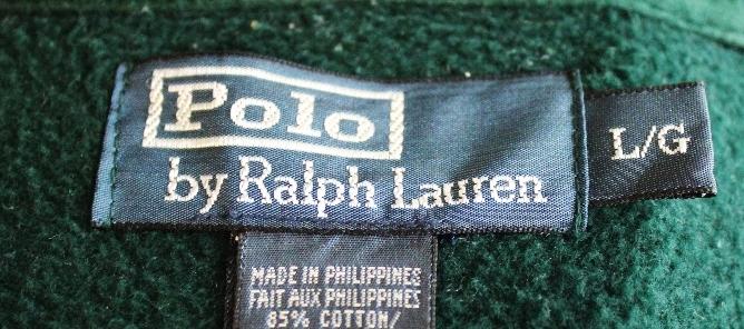 Lot 34 - Ralph Lauren Sweatshirt Cardigan Jumper Top Large Green 44-46 Chest