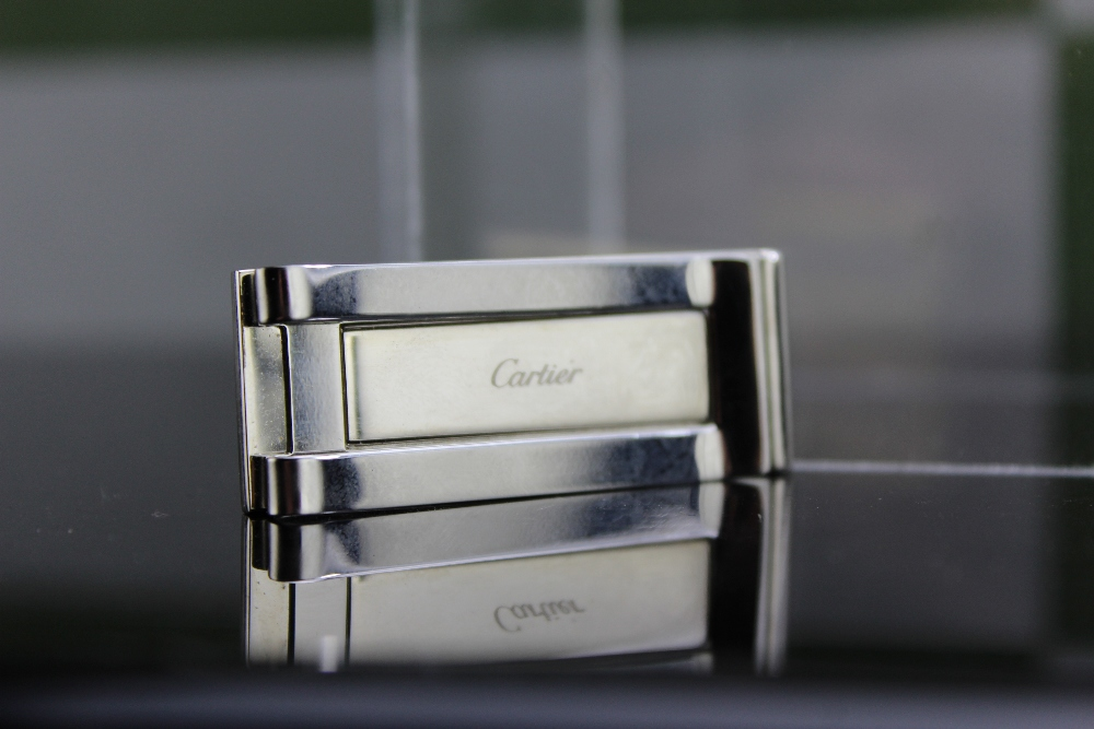 Lot 6 - Cartier Santos Gold Plated Money Clip