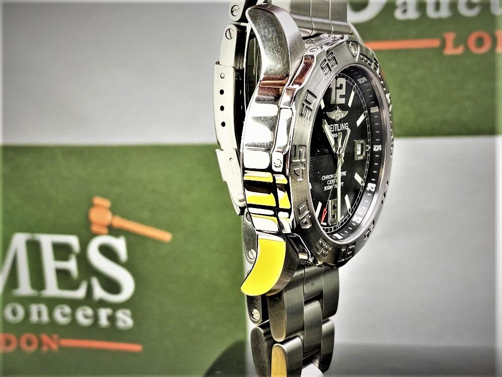 Lot 3 - Breitling Colt 44 Chronometer Quartz 42.5mm-Ref A74387.