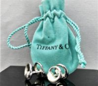 Tiffany & Co Eternal Circle Silver 925 Cufflinks