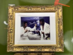 Muhammad Ali Signed Meeting With Elvis Presley -Las Vegas 1973