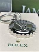 Rolex Official Merchandise Silver Crown Keyring New Example