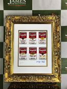 "Andy Warhol 1984 ""Cambells Soup"" Lithograph # 7/100 Ltd Edition"